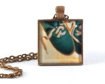 Always Summer handmade one-of-a-kind resin pendant