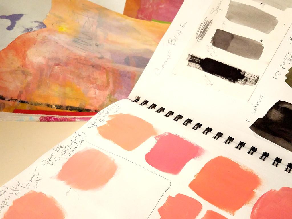 sketchbook palette experiments